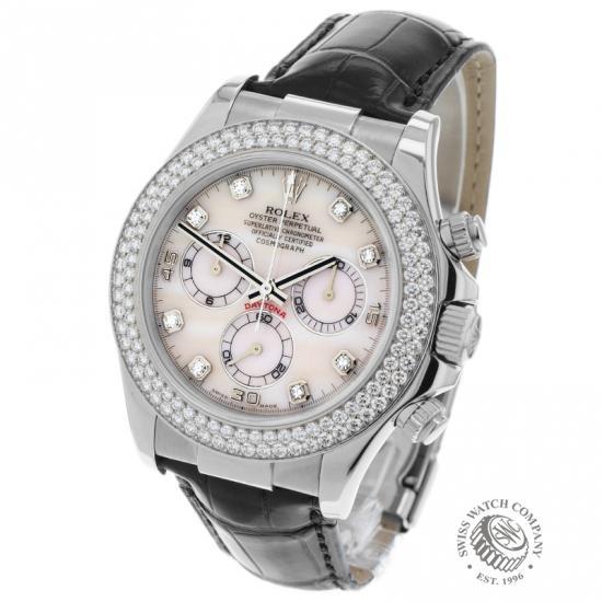 Rolex Daytona 18ct White Gold