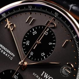 IW21979S IWC Portuguese 18ct Chronograph Close3