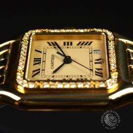 1863F Cartier Ladies Panthere 18ct Close3