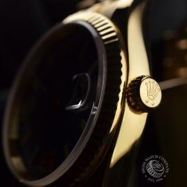 RO1816P Rolex Datejust 18ct Close6