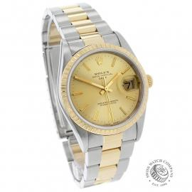 RO21991S Rolex Oyster Perpetual Date Dial