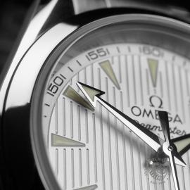 OM22646S Omega Ladies Seamaster Aqua Terra Close7
