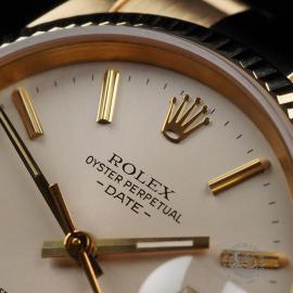 RO22533S Rolex Date 18ct Gold Close5