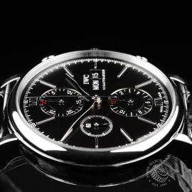 IW21825S IWC Portofino Chronograph Close6