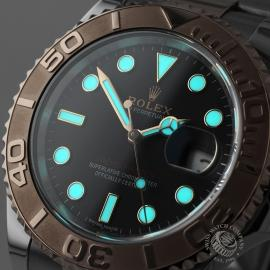 RO21675S Rolex Yachtmaster Close1