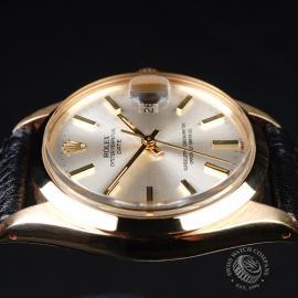 RO21812S Rolex Vintage Date 18ct Close6