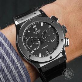 HU22600S Hublot Classic Fusion Titanium Chronograph Wrist