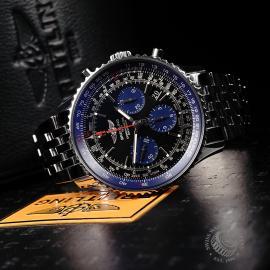 BR22147S Breitling Navitimer 01 Blue Edition Close10