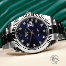 RO22305S Rolex Datejust 41 Unworn Close2