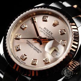 RO22235S Rolex Ladies Datejust Close2