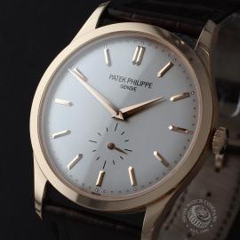PK22445S Patek Philippe Calatrava Rose Gold Close1