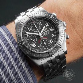 BR22647S Breitling Chronomat Blackbird Wrist