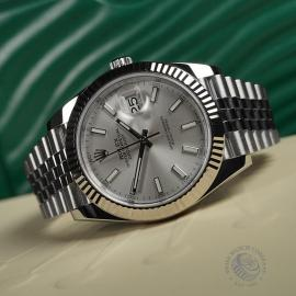 RO22357S Rolex Datejust 41 Unworn Close10