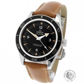 OM21657S Omega Seamaster 300 Master Co-Axial Back