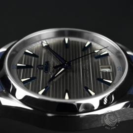 OM21203S Omega Seamaster Aqua Terra Co-Axial Master Chronometer Close8