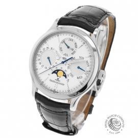 21383S Jaeger LeCoultre Master Control Perpetual Calendar  Back