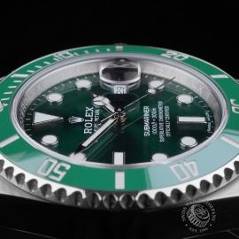 RO21645S Rolex Submariner Date Ceramic 'Hulk' 116610LV Close6