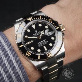 RO22597S Rolex Submariner Date Unworn Wrist 1