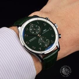 IW18253S IWC Portuguese Chrono Boris Becker Limited Edition Wrist