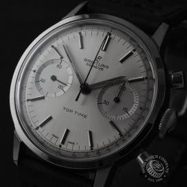 BR822F Breitling Vintage Top Time Cronograph Close1