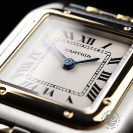CA21923S Cartier Ladies Panthere 2-Row Close6