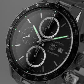 21481S Tag Heuer Carrera Chronograph Tachymetre Close1