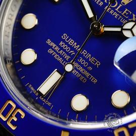 RO21898S Rolex Submariner Date Close4