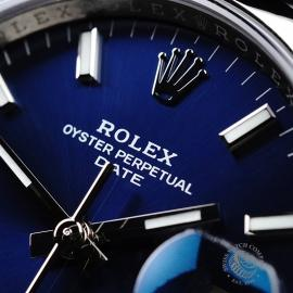 RO21737S Rolex Oyster Perpetual Date Close3
