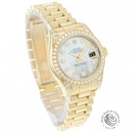 RO21016S Rolex Ladies Datejust 18ct Dial 1