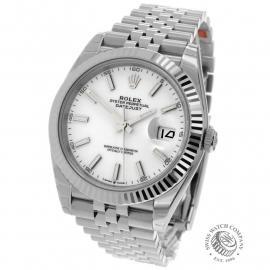 RO22350S Rolex Datejust 41 Unworn Back