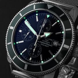 BR22461S Breitling Superocean Heritage 46 Chronograph Close1
