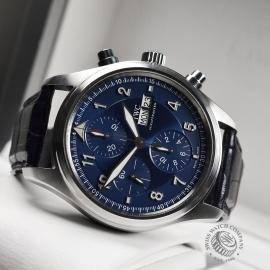 IW20694S IWC Pilots Spitfire Chrono Laureus Close10 1