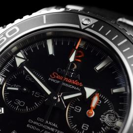 OM20307S Omega Seamaster Planet Ocean 600m Co Axial Chrono Close6