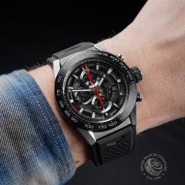 TA21410S Tag Heuer Carrera Calibre HEUER 01 Chronograph Wrist