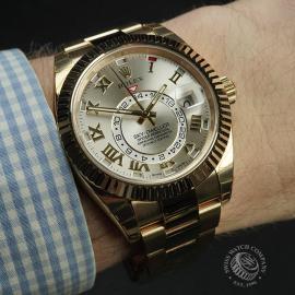 RO22332S Rolex Sky-Dweller 18ct Unworn Wrist