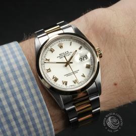 RO22307S Rolex Datejust 36 Wrist 1