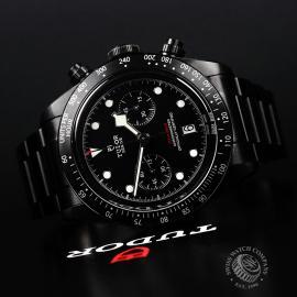 TU22227S Tudor Heritage Black Bay Chronograph Dark Close10
