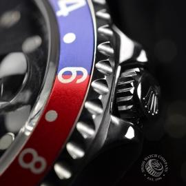 RO20324S Rolex GMT Master II - Stick Dial Close11