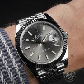 RO22583S Rolex Datejust 41 Unworn Wrist