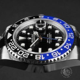 RO22681S Rolex GMT Master II 'Batman' Close6