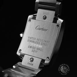 CA21054S Cartier Ladies Tank Francaise Small Model Close10 1
