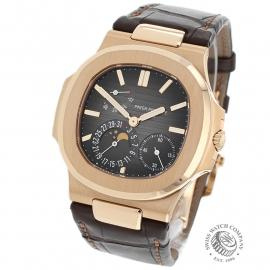 PK21878S Patek Philippe Nautilus Moonphase Back
