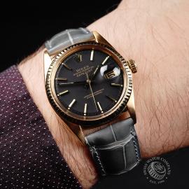 RO-646F Rolex Datejust 18ct Wrist