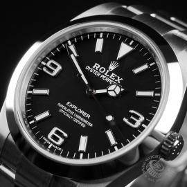 RO22447S Rolex Explorer 39 Unworn Close2