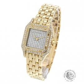 21357S Cartier Panthere 18ct Gold Back 1