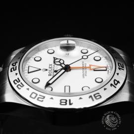 RO22284S Rolex Explorer II Orange Hand Close6