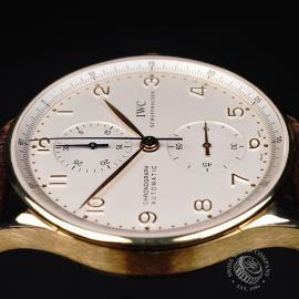 IW22062S IWC Portuguese 18ct Chronograph Close6