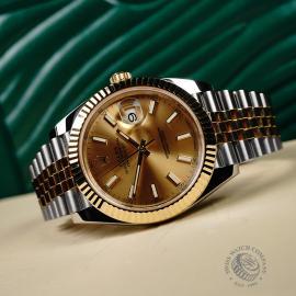 RO22160S Rolex Datejust 41 Close10
