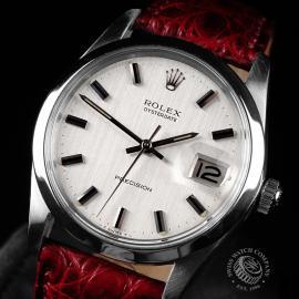 RO747F Rolex Oysterdate Precision Close 2 1