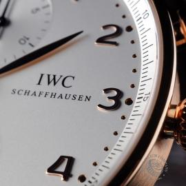 IW1888P IWC Portugieser Chronograph Close 5